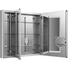 Bathroom Mirror Cabinets by Bathroom Cabinets Medicine Cabinet Enchanting Kohler Recessed