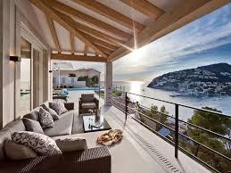 beach cottage design spanish balcony in modern beach cottage interior design and low