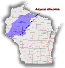 Wisconsin Map by The Chippewa Valley
