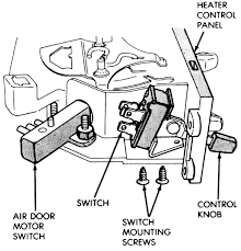 repair guides heating and air conditioning vent door control