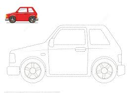 connect the dots to draw a car free printable puzzle games