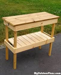 Bbq Tables Outdoor Furniture by Diy Bbq Table Myoutdoorplans Free Woodworking Plans And