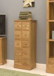 Multi Drawer Wooden Cabinet Buy Baumhaus Mobel Oak Multi Drawer Storage Chest From Our Filing