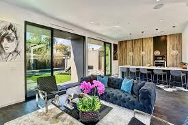 brand new construction modern smart home with open floor plan