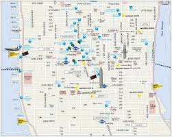 Nyc Maps Map Of Manhattan Manhattan Streets And Avenues Must See Places