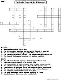 periodic table puzzle worksheet answers periodic table of elements worksheet crossword puzzle by science spot