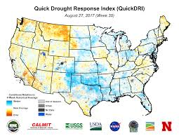 Oregon Time Zone Map by Drought August 2017 State Of The Climate National Centers