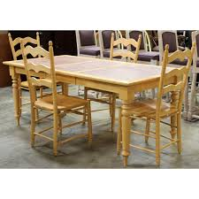 Walter Of Wabash Maple Dining Table W  Chairs Upscale Consignment - Maple kitchen table