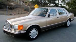 w126 mercedes 420sel 1 owner 44 000 original 420 mint