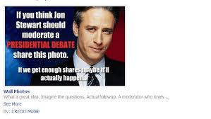 Jon Stewart Memes - jon stewart to host presidential debate caign