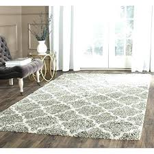 High Pile Area Rugs Fluffy Rugs For Living Room Plush Area Rugs Charming Large High