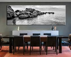 dining room artwork piece art black and white wall decor