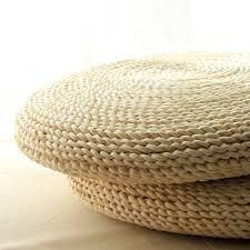 siege en rotin herbe rotin tissage tapis de jeu japonais tatami siège