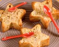 goosto cuisine petits gâteaux aux poires aux amandes et au gingembre http