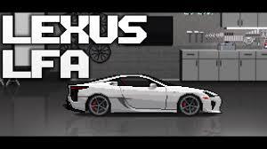 youtube lexus lfa pixel car racer lexus lfa youtube