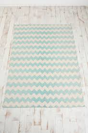 Pale Blue Rug Assembly Home Zigzag Printed Rug Chevron Rugs Urban Uutfitters