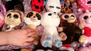 super large beanie boo collection