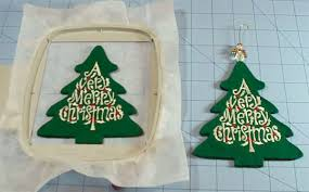 machine embroidery ornaments pre cut and pattern pairings
