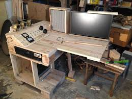 Desks Under 50 Furniture Wood Office Desks Computer Desk Wheels Pallet Desk