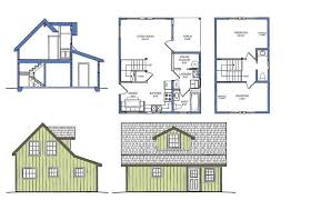 small cottage plan tiny home floor plans michigan home design