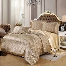 sexy bedroom sets sexy leopard satin bedding set 4pcs solid gray brown purple imitated