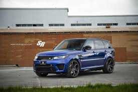 land rover range rover sport matte black range rover sport svr on pur wheels british swag autoevolution