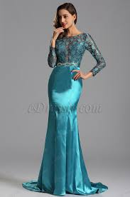 edressit navy blue illusion lace bodice formal dress x02152905