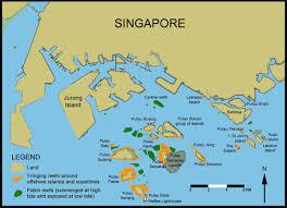Map Of Singapore Cool Coral Reefs Of Singapore Pic Kusu Island Kusu Island