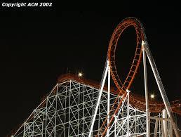 Goldrusher Six Flags Magic Mountain Six Flags Magic Mountain Viper Viper Night2 Jpg Roller
