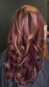 Red Hair Color With Highlights Pictures Best 25 Violet Highlights Ideas On Pinterest Medium Weave