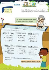number jumble 2 math worksheet for grade 2 free u0026 printable