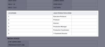 blank report card templates the daily production report explained with free template daily production report template 03 studiobinder