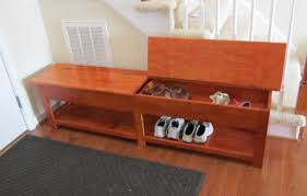 Solid Wood Entryway Storage Bench Fascinating Snapshot Of Isoh Ideal About Mabur Nice Ideal About