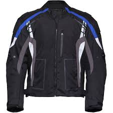 blue motorbike jacket sports comm waterproof sport commuter scooter motorcycle short