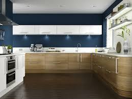 küche wandfarbe wandfarbe küche wände streichen ideen küche einrichten blaue