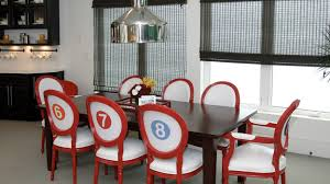 Funky Dining Room Sets Designed To The Nines Extreme Makeover Home Edition Kitchen And
