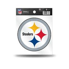 amazon com nfl pittsburgh steelers small static decal sports