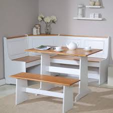 Natural Wood Dining Room Tables Kitchen 12way Dining Room Set With Bench Kitchen Booth Seating
