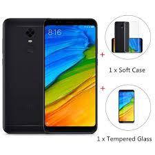 Xiaomi Redmi 5 Plus Package Global Rom Xiaomi Redmi 5 Plus 4gb 64gb Smartphone Black