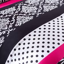 Girls Zebra Bedding by Mizone Reagan Twin Xl Comforter Set Pink Zebra Free Shipping