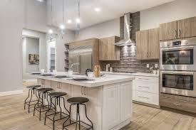 kitchens without islands modern kitchen with bellavita tile rainfall in putty dakota