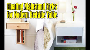 exlusive floating nightstand with drawer for modern bedside table