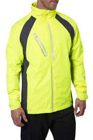 mens hi vis waterproof cycling jacket cycling clothing cycling gear zakti