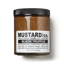 gourmet mustard mustard black truffle