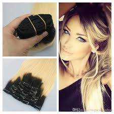 ombre clip in hair extensions two tone clip in human hair extensions ombre clip in hair
