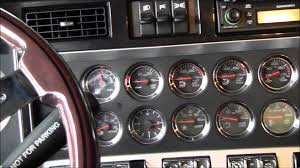 kw tractor 2009 kenworth w900l tri axle tractor 38564 youtube