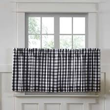 cafe curtains kitchen cafe curtains you ll wayfair