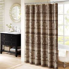 Shower Curtains Ebay Madison Park Bellagio Jacquard Shower Curtain Ebay