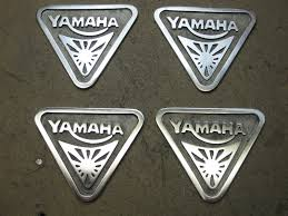 yamaha emblem for sale triangular yamaha badges yamaha xs650 forum