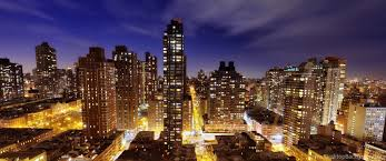 3440 X 1440 Wallpaper New York by Download Wallpapers 3840x2160 Town New York Night Light Street